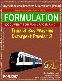 Train and Bus Washing detergent Powder-3