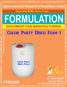 Entertainment and Party Products Formulations