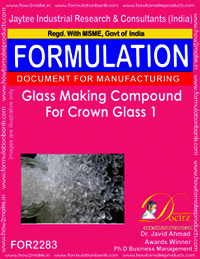 Glass Making Compound for Crown Glass 1