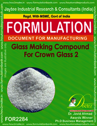 Glass Making Compound for Crown Glass 2