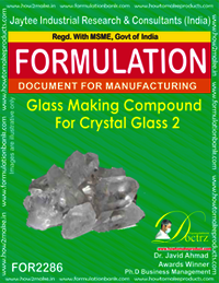 Glass Making Compound for Crystal Glass 2
