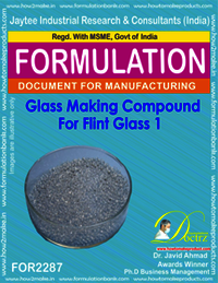 Glass Making Compound for Flint Glass 1