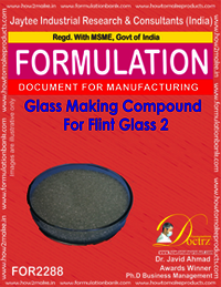 Glass Making Compound for Flint Glass 2