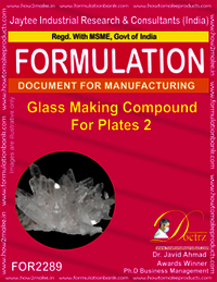 Glass Making Compound for Plates 2