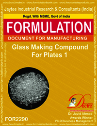 Glass Making Compound for Plates 1