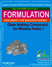 Glass Making Compound for Windowpanes 1