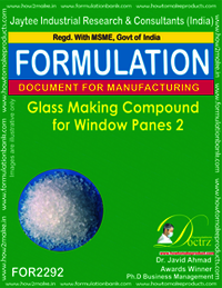 Glass Making Compound for Windowpanes 2