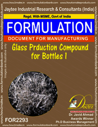 Glass Production Compound for Bottles 1