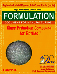 Glass Production Compound for Bottles 2