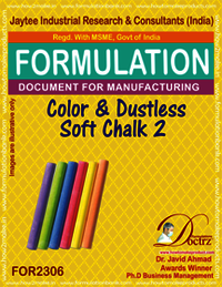 Color Dustless soft writing chalk formula-2
