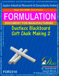 Dustless soft chalk for black board formula-2