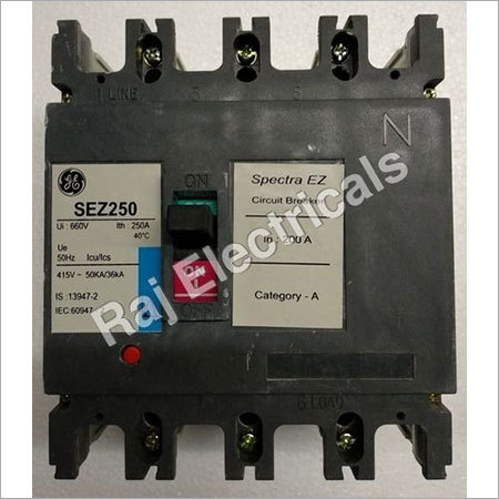MCCB General Electric 200 Amp