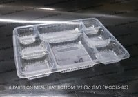 8 PORTION FOOD TRAY