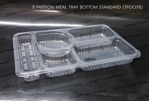 5 Partition Food Tray