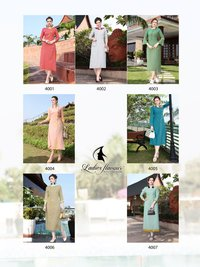 RAYON LONG FANCY KURTIS