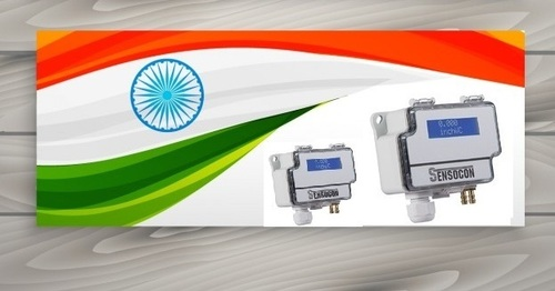 Sensocon USA Differential Pressure Transmitter Series DPT30-R8 - Range  0 - 380 mmWC