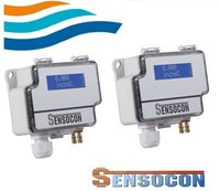 Sensocon USA Differential Pressure Transmitter Series DPT10-R8 - Range -622 - 622 Pa