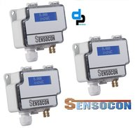 Sensocon USA Differential Pressure Transmitter Series DPT10-R8 - Range -1250 - 1250 Pa