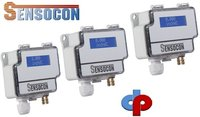 Sensocon USA Differential Pressure Transmitter Series DPT10-R8 - Range 0 - 2500 Pa