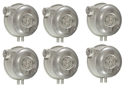 Sensocon USA Differential Pressure Switch Series 104 - 2 Pressure Range 50-500 Pa