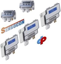 Sensocon USA Differential Pressure Transmitter Series DPT10-R8 - Range -12.5 - 12.5 mbar