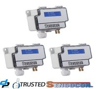 Sensocon USA Differential Pressure Transmitter Series DPT10-R8 - Range 0 - 2.5 mbar
