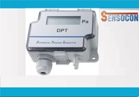 Sensocon USA Differential Pressure Transmitter Series DPT10-R8 - Range 0 - 25 mbar