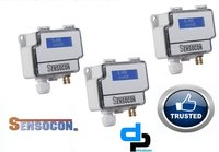 Sensocon USA Differential Pressure Transmitter Series DPT10-R8 - Range 0 - 64 mmWC