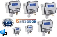 Sensocon USA Differential Pressure Transmitter Series DPT30-R8 - Range  -5.0 - 5.0 inWC