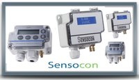 Sensocon USA Differential Pressure Transmitter Series DPT30-R8 - Range  0 - 30 inWC