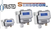 Sensocon USA Differential Pressure Transmitter Series DPT30-R8 - Range  -1250 - 1250 Pa