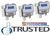 Sensocon USA Differential Pressure Transmitter Series DPT30-R8 - Range  -2500 - 2500 Pa