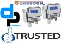 Sensocon USA Differential Pressure Transmitter Series DPT30-R8 - Range  -3750 - 3750 Pa