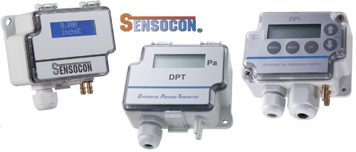 Sensocon USA Differential Pressure Transmitter Series DPT30-R8 - Range  0 - 6250  Pa