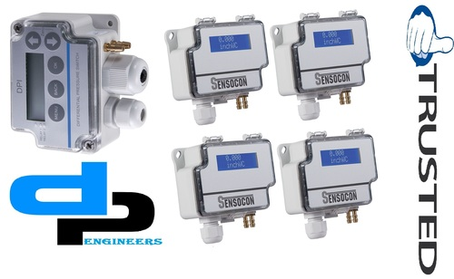 Sensocon USA Differential Pressure Transmitter Series DPT30-R8 - Range  0 - 37.5 mbar