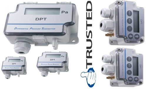 Sensocon USA Differential Pressure Transmitter Series DPT30-R8 - Range  -127 - 127 mmWC