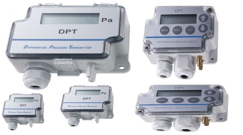 Sensocon USA Differential Pressure Transmitter Series DPT30-R8 - Range  -254 - 254 mmWC