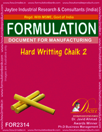 Hard writing chalk formula-2
