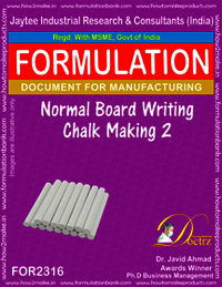 Normal Board writing chalk formula-2