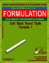 Soft Black-Board chalk formula-1
