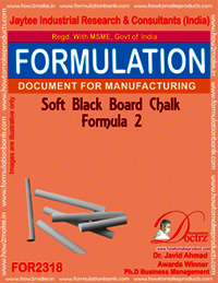 Soft Black-Board chalk formula-2