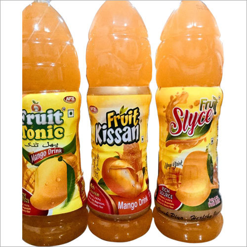 Mango Juice Bottle Lable
