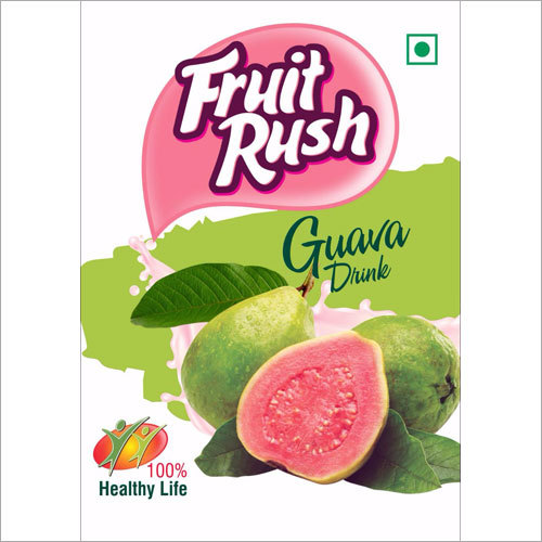 Guava Custom Print Bottle Label
