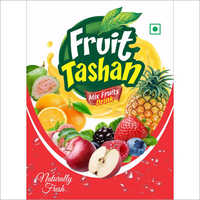 Custom Print Mix Fruit Bottle Label
