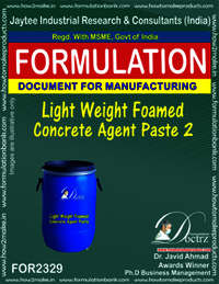 Light Weight Foamed Concrete Agent Paste-2