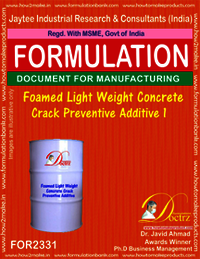 Light Weight Foamed Concrete Crack Preventive Agent-1