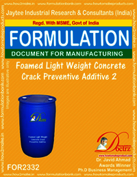 Light Weight Foamed Concrete Crack Preventive Agent-2