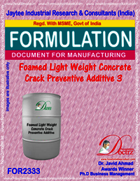 Light Weight Foamed Concrete Crack Preventive Agent-3