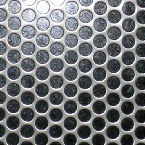 Metal Perforated Sheets Round Hole Close Pitch
