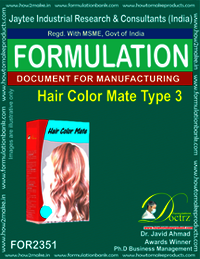 Hair color mate type formula-3